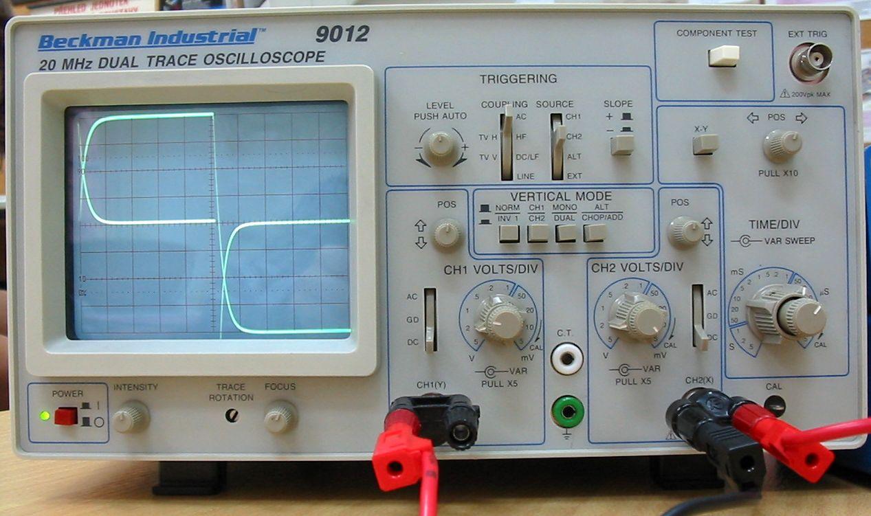 Oscilloscope Image Of B : Utilisation d un oscilloscope physique et chimie au